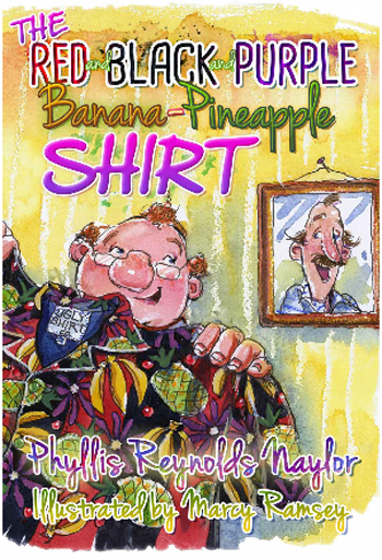 The Red and Black and Purple Banana-Pineapple Shirt