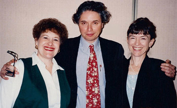 Phyllis with Susan Lowell and Avi