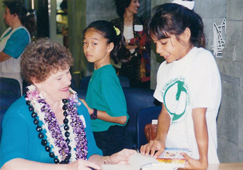 Book Signing in Hawaii